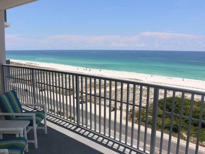 Photo for Large Balcony with Direct Views of the Beautiful Gulf of Mexico - AMAZING VIEWS