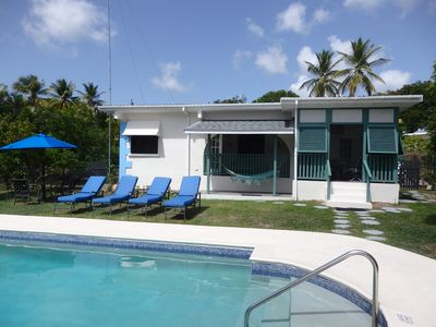 Photo for Beautiful 3 Bedroom Bajan style home with private pool set in tropical gardens