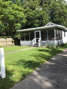 Photo for Hayden Cottage, Pet Friendly, Screened Porch, Walk to Beach