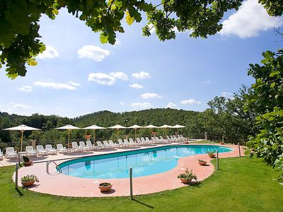 Photo for 3 bedroom Apartment, sleeps 8 in Sorano with Pool, Air Con and WiFi