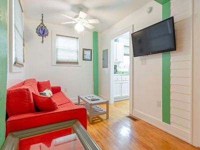 Photo for Fully Furnished Apartment in Historic Tybee Island Apartment Building Only Steps to the Beach