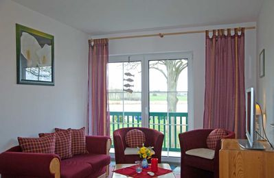Photo for Rooms 1, 2, 3, 6, 7 - Pension Seeperle in an idyllic location with lake view
