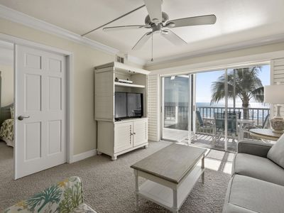 Photo for Sanibel Surfside 123, Gulf Front Views, Bikes & Beach Equipment