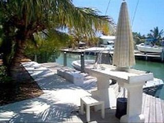 Pool Home On Deep Canal Off Boot Key Harbor Vrbo