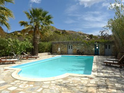 Photo for 3 Guest Houses each sleeping 2 at Villa Evangelini with Private Pool and gardens