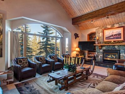 Photo for Ski-In/Out 6-BR 6.5-Bath Luxury House w/ 4 Master Suites & In-Town Shuttle