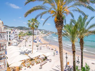 Photo for S5 Superior Sea View - In front of the beach - Tourist apartments in Sitges, Catalonia