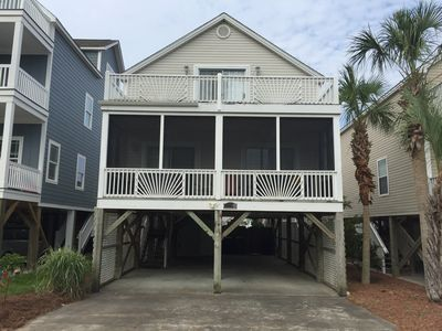 Photo for Discount Fall rates start August 17! 3 BR house private pool steps to Beach
