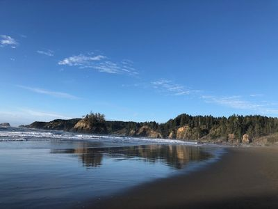 Trinidad State Beach is great for surfing, whale watching or walking your dog.