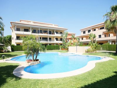 Photo for 4 bedroom Apartment, sleeps 10 in Javea with Pool and WiFi