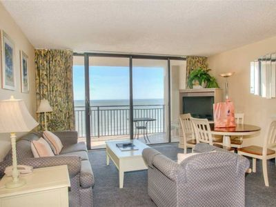 Photo for Full Kitchen! Direct Ocean Front View! Beach Front Building!