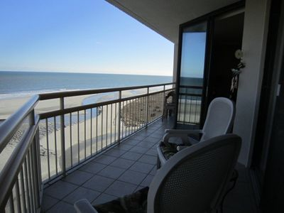 Photo for Oceanfront Dream Vacation! Granite, Stainless, Beach Locker-Book Early!