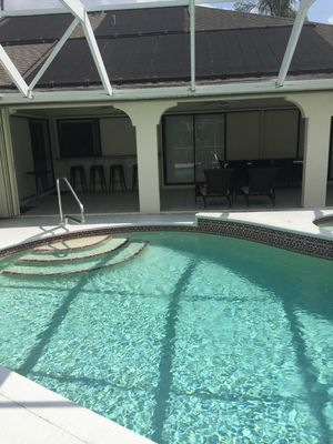Photo for Sunshine Canal with an in ground pool