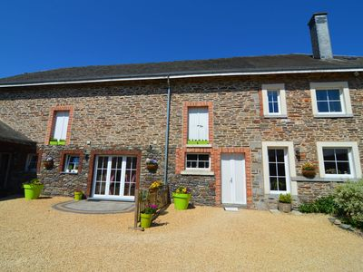 Photo for Beautiful gîte in former farmhouse with garden in Tillet (Saint-Ode)