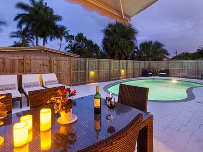 Photo for Beachway Per Ankh - **Private Heated Pool Minutes From The Beach**