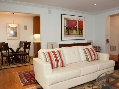 Photo for Luxurious Prime Central Flat with Parking & Laundry