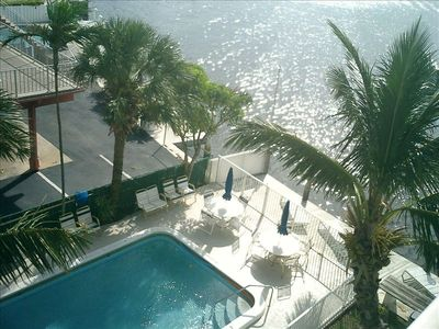 Heated Swimming Pool overlooking Intercoastal Waterway(Condo 1,2,3)