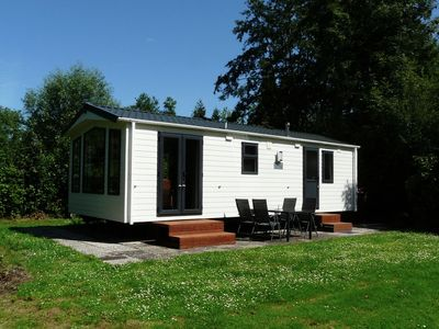 Photo for Lovely chalets with plenty of privacy, in a water and nature rich holiday park