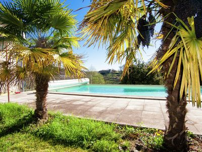 Photo for Mansion with guest lodgings on a large property with heated private pool.