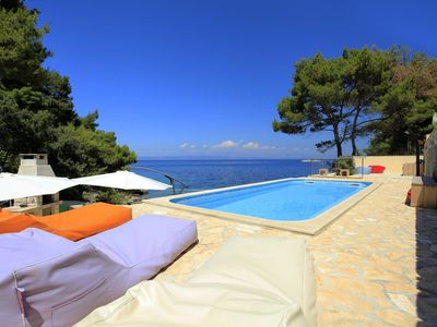 Photo for Villa Aquamarina - Luxury villa right on the sea for up to 20 people