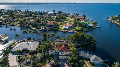 Photo for Cape Coral Waterfront Home Just Minutes from Beach with 4 En-Suite Bedrooms