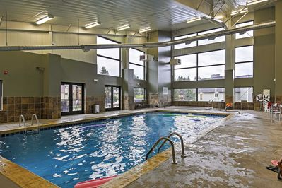 You'll have access to the rec center pool - perfect no matter the season!