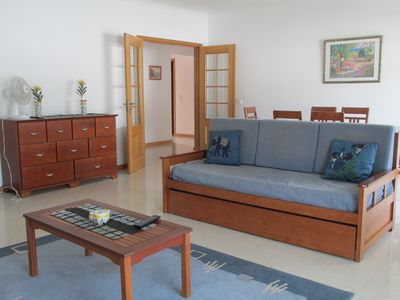 Photo for Big apartment 130m2,  down town Albufeira, close the beach