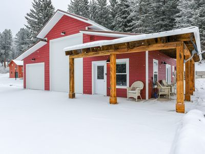 Photo for Your Next Cozy Escape 1BR New Cabin near Cheyenne Crossing/Spearfish Canyon!