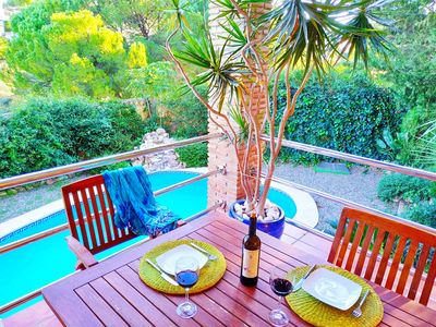 Photo for COZY VILLA WITH PRIVATE POOL TOTALLY RENOVATED HOUSE FREE WIFI AND BBQ