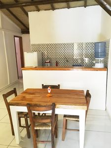 Photo for Elegant furnished apartment in the center of the village of Barra Grande