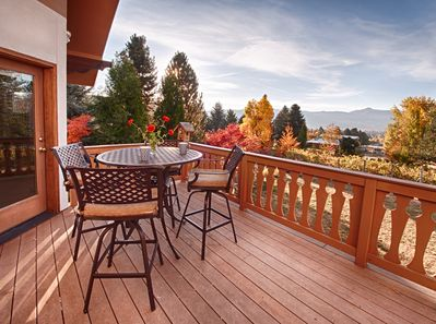 Patio off the living room. Great for your morning coffee!
