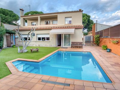 Photo for SUPER OFFER BEAUTIFUL HOUSE WITH POOL NEAR THE BEACH