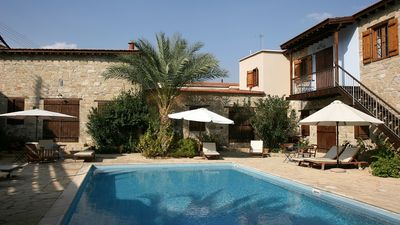 Photo for Beautiful Country House with A/C, WiFi and Shared Pool in the Historical Village of Choirokoitia