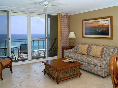 Photo for Emerald Bch Resort Gulf Front 2 BR, 2 BA w/ bunks & sleeper sofa. Sleeps 8 Pools