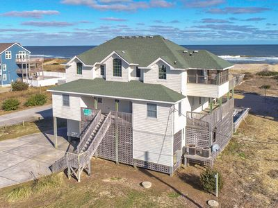 Photo for Beach Music - Spotless 8 Bedroom Oceanfront Home in Waves