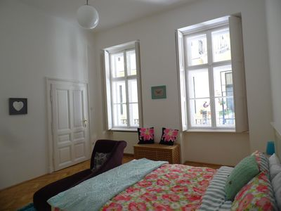 Photo for Luxury 2 Bed 2 Bath Apartment Sleeps 6 Central Budapest, Andrassy, Opera