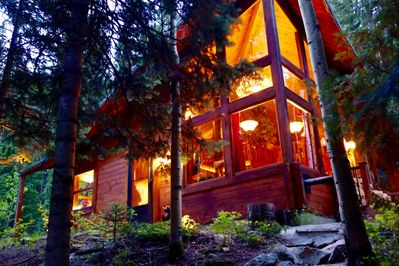 The Cabin is as beautiful as the forest that surrounds it.