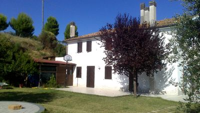 Photo for Apartment for relaxing holidays among olive groves overlooking the Adriatic