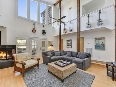 Light-Filled Vacation Home on Wooded Lot - Near Downtown & Lake Austin