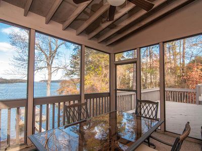 Photo for Big Water Views! Family Vacation Home. Dock & Easy Access to Lanier Islands