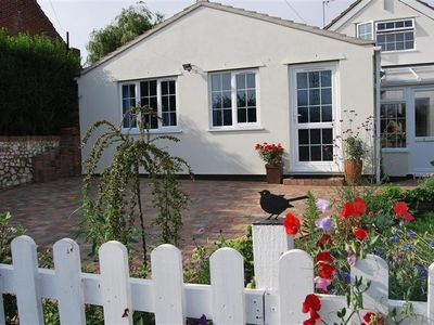 Photo for A newly refurbished holiday home overlooking fields