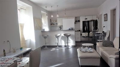 Photo for APARTMENT LORIS, IN THE CENTER OF SKRADIN, 64 M2, 3 ROOMS WITH PRIVATE GARDEN