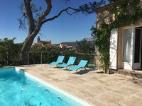 A lovely place with nice pool and stunning views