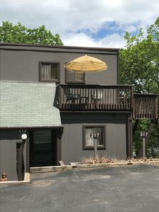 Photo for One of the only pet friendly units!   Walk to the Slopes!
