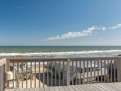 Photo for Amazing View: South Nags Head, semi-oceanfront, great ocean views, pet friendly!
