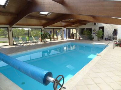 Photo for Beautiful Gite with indoor pool.