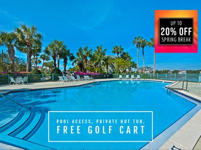 Photo for FREE Golf Cart, Hot Tub, OCEAN VIEW +FREE VIP Perks & $200 LiveWell30A Credit