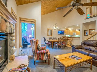 Photo for Open Summer Layout - Spacious Steamboat Townhome With Private Hot Tub.