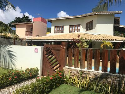 Photo for BEAUTIFUL HOUSE WITH 50M FROM THE BEACH - COND PARAISO