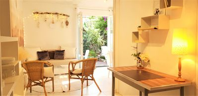 Photo for T3 Classified 3 Stars, 2 bedrooms, garden 70m2, sandy beach at 450 m